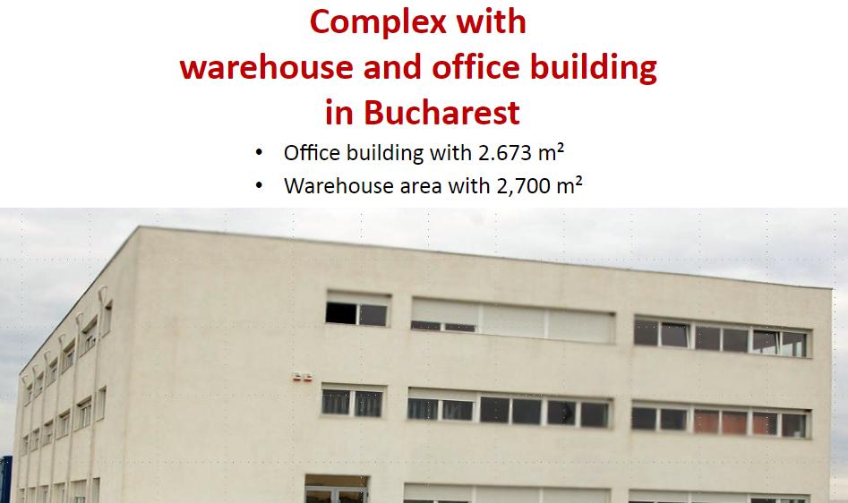 Cladire Birouri si hala depozit in Bucuresti Centura A1